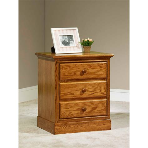 Rustic Nightstand Amish Crafted Furniture - traditional nightstand amish crafted furniture