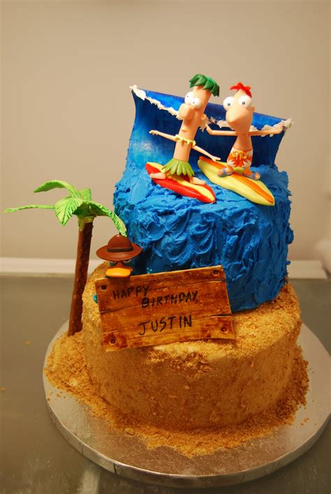 phineas  ferb cakes decoration ideas  birthday cakes
