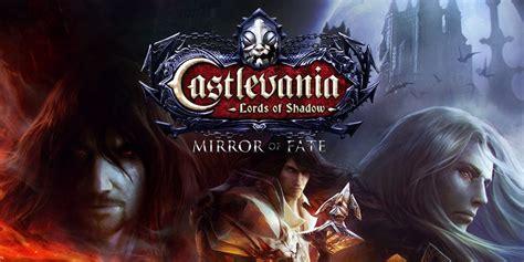 Kaset Castlevania Of Shadow Mirror Of Fate 3ds castlevania of shadow mirror of fate nintendo 3ds jeux nintendo