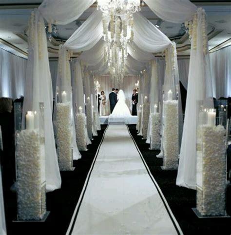 breathtaking david tutera weddings drapes and aisles