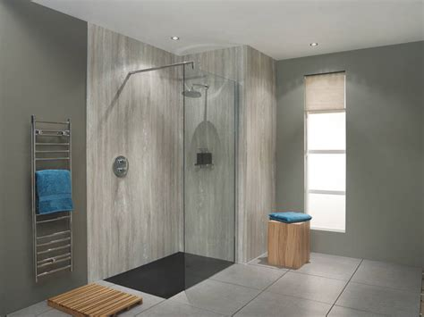 Shower Laminate Wall Panels by Bushboard Ups The Design Ante With The Relaunch Its Nuance