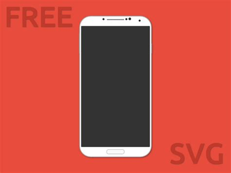 android galaxy s4 samsung galaxy s4 android svg format svg freebie free svg resource for sketch