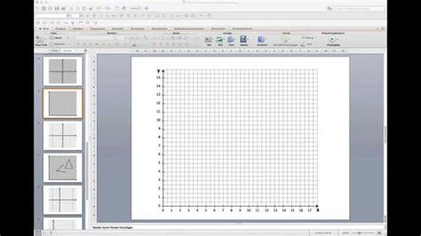 Powerpoint Design Vorlage Erstellen vorlage f 252 r koordinatensysteme in powerpoint
