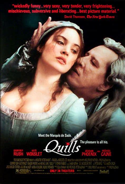 quills film complet quills la plume et le sang de philip kaufman cin 233 ma passion