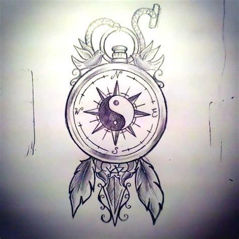 yin yang tattoo flash yin yang travel tattoo design