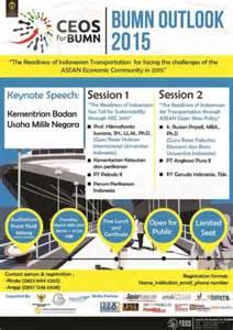 Mba Outlook 2015 by Seminar Bumn Outlook 2015 Kamis 19 Maret 2015 Warta
