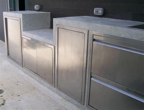 Stainless Steel Kitchen Cabinet Doors Outdoor Kitchen Stainless Steel Cabinet Doors The Stainless Steel Outdoor Kitchen Cabinets For