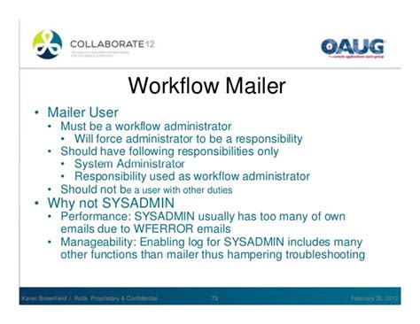 workflow mailer not sending emails oracle workflow use and administration