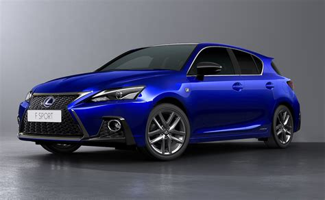 hybrid lexus ct200h 2018 lexus ct 200h facelift revealed with sharpened design