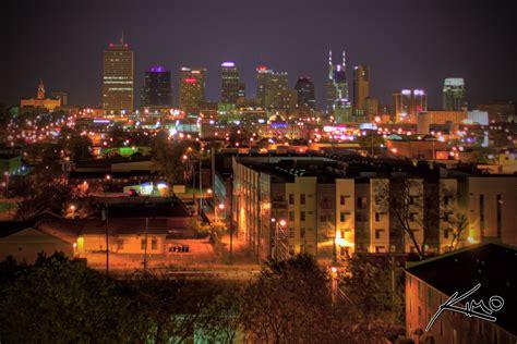 Downtown Nashville Tennessee At Night Nashville Tn Lights
