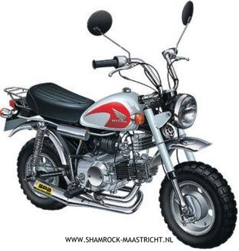 shamrock honda shipping merk aoshima product hyper monkey honda z50