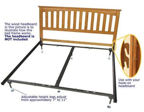 Attach Headboard To Metal Bed Frame by Hook On Bed Frames Or King
