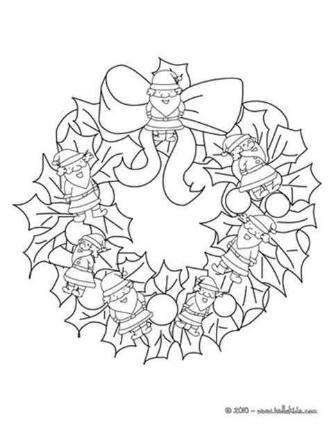 holly wreath coloring page holly wreath coloring page getcoloringpages com