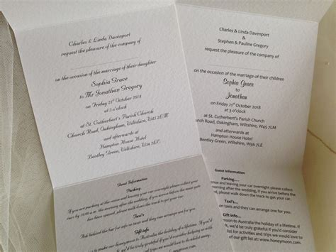 tri fold wedding invitations affordable wedding invitations from top uk printing company