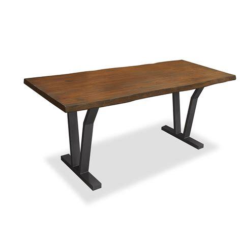 dakota live edge dining table