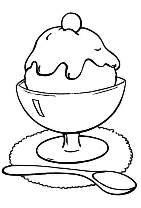 ice cream dish coloring page 1000 images about coloring pages on pinterest coloring
