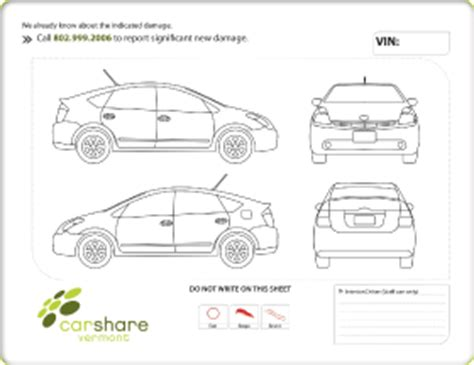 car damage report template vehicle check sheet new calendar template site