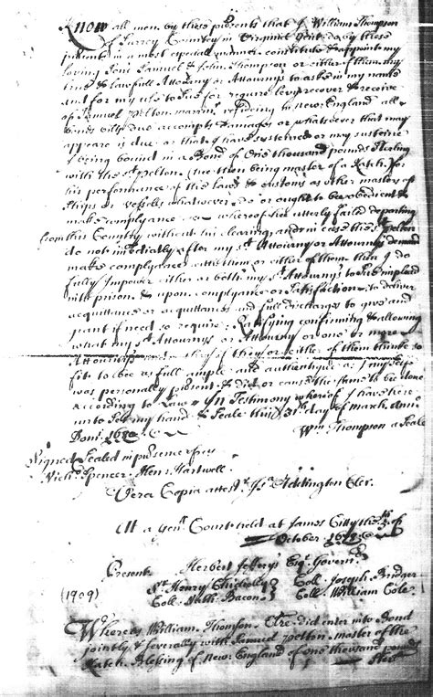 Suffolk County Court Records Colonial Massachusetts