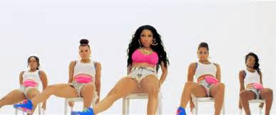 Plastic Kid Chairs Millions Captured By Nicki Minaj S Anaconda Thirst Trap