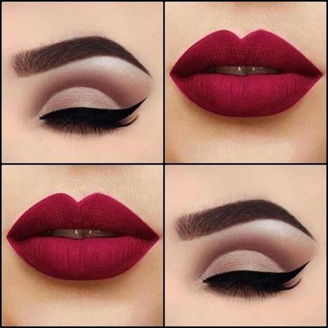 labios con glitter rojo brillantina youtube red glamour m 225 s make up pinterest glamour redecilla