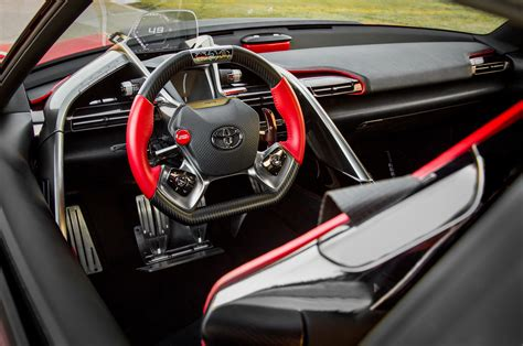 toyota supra interior toyota ft 1 concept first look motor trend