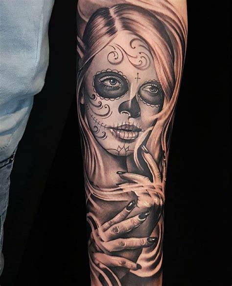 catrinas tattoo la catrina by glen carloss tattoos anonymous
