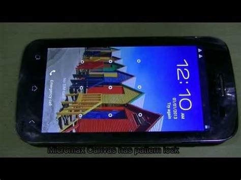 pattern unlock software for micromax a27 unlock pattern lock of micromax canvas smartphone how to