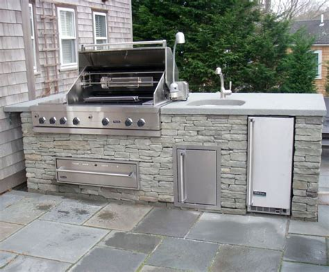 outdoor kitchen with sink sac design board