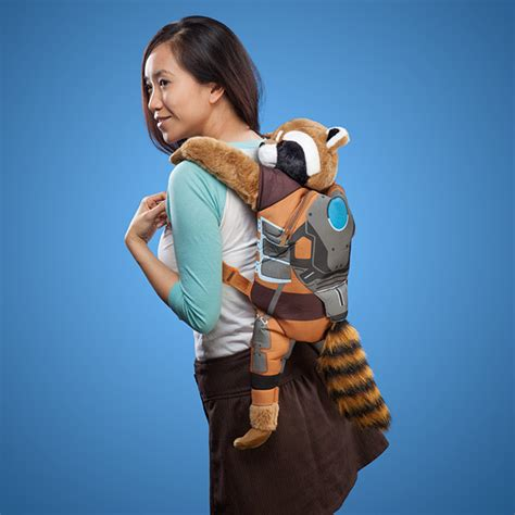 Awesome Home Office by Rocket Raccoon Backpack Buddy Exclusive Thinkgeek
