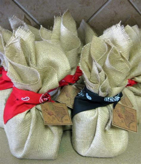 themed gift bags texas themed gift bags my wedding pinterest