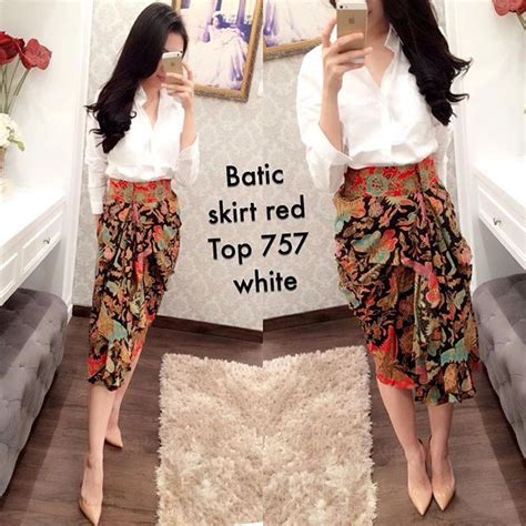 Kain Batik Fashion 36 batik skirt batic inspiration