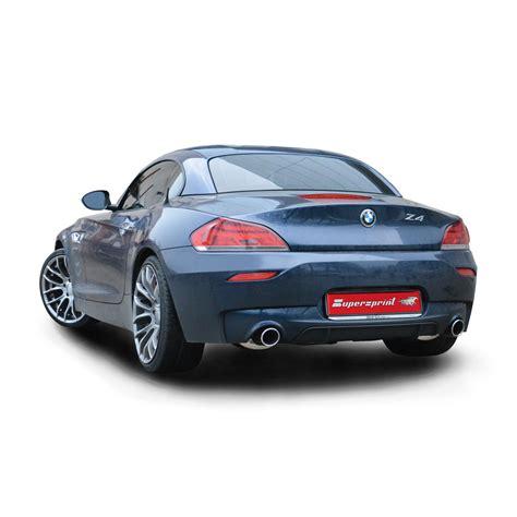 bmw z4 hp performance sport exhaust for z4 sdrive35is bmw e89 z4