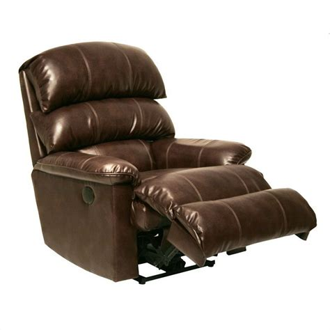 leather wall hugger recliners catnapper templeton leather wall hugger recliner in