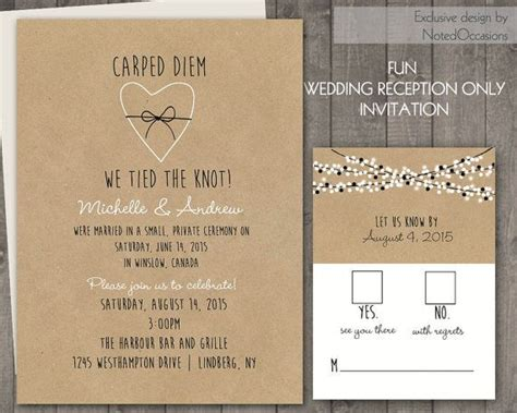 wedding reception invite layout 3 reception only wedding invitations sansalvaje