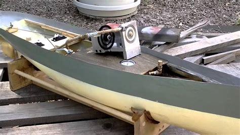 model steam boat youtube verburg turbine in model steam boat youtube