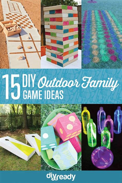 backyard family games 15 diy outdoor family games diy projects craft ideas upcomingcarshq com