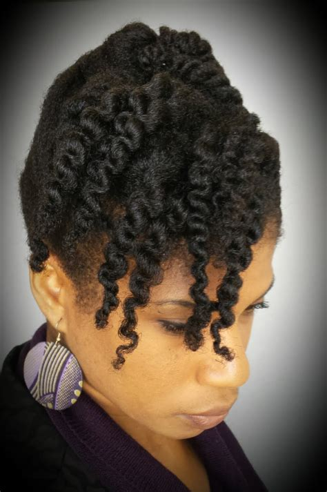 step by step black natural hairstyles 4 natural hair 10 minute cornrow and twist updo