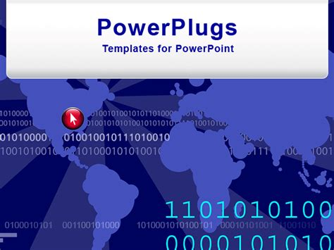 live themes for ppt powerpoint template a live background with binary numbers
