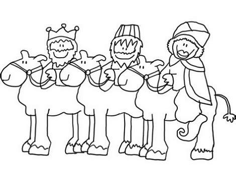 imagenes de los reyes magos para pintar cartas para los reyes y dibujos infantiles de los reyes