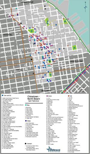 san francisco map of chinatown san francisco chinatown wikitravel