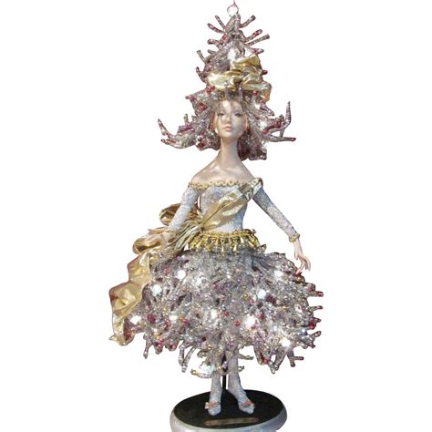 jolie noel christmas tree doll light 1 by artist bill