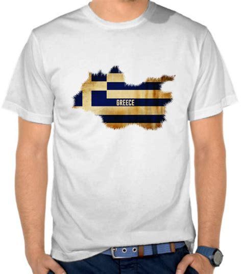 Kaos Bendera 2 jual kaos bendera greece yunani bendera satubaju