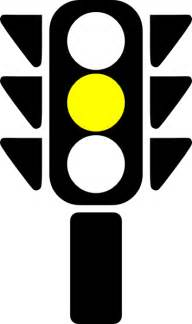 traffic semaphore yellow light clip at clker