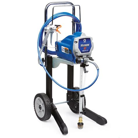 using a home depot paint sprayer graco magnum x7 airless paint sprayer 262805 the home depot