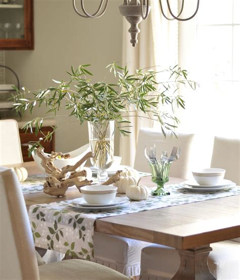 Dining Room Table Setting | dining table informal dining table setting