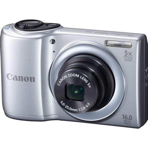 Gear For Lensa Canon A810 canon powershot a810 digital silver 6179b001 b h photo