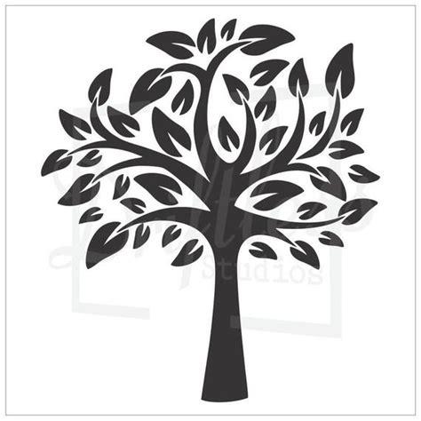 Family Tree Stencil Family Tree Template Tree Stencil Tree Etsy Tree Stencil Template