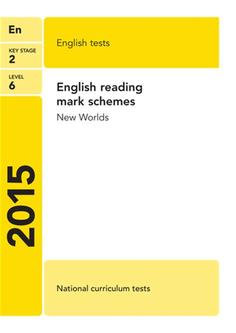 reading schemes ks2 2015 reading sats mark schemes by eric t viking teaching