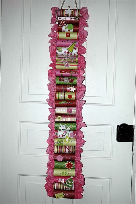 Decorations Made Out Of Toilet Paper Rolls by Check Out This Advent Calendar Made From Empty Toilet