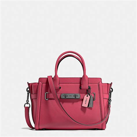 Pre Order Coach Swagger 27 Butterfly Carryall Asli Ori Authentic coach swagger bag